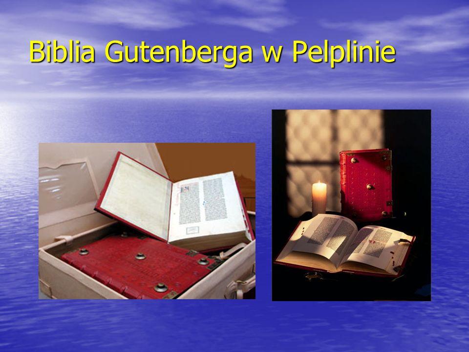 Biblia Gutenberga w Pelplinie