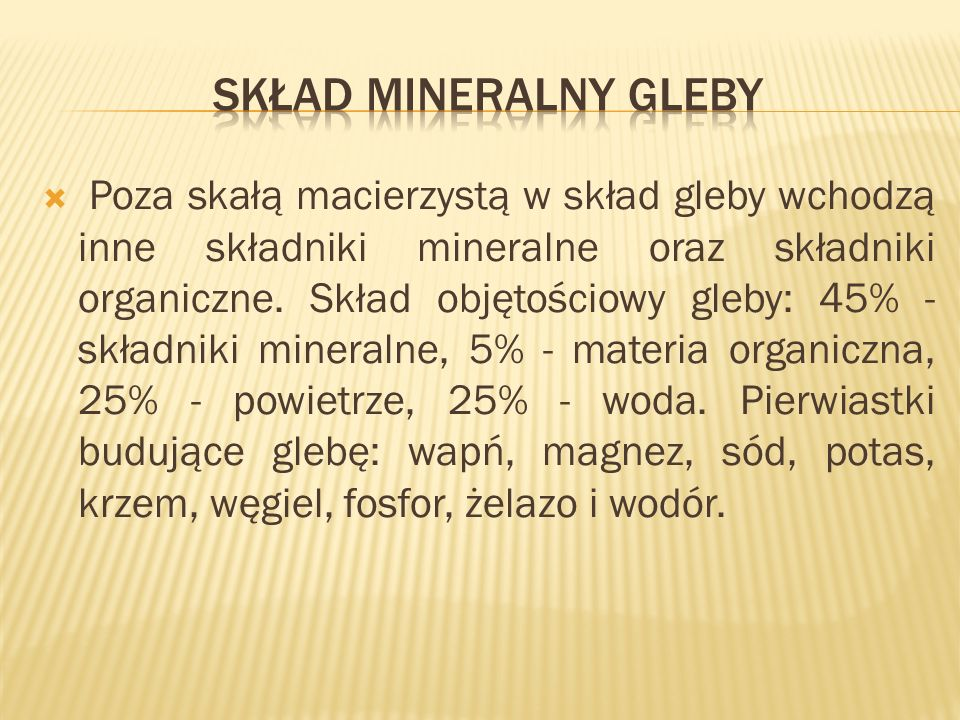Gleby klasy III (a i b) gleby orne średnio dobre - Gleby brunatne, gleby bielicowe.