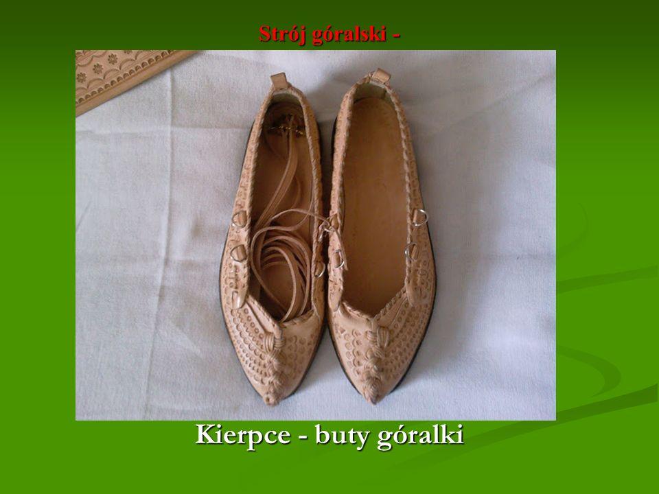 Strój góralski - Kierpce - buty góralki