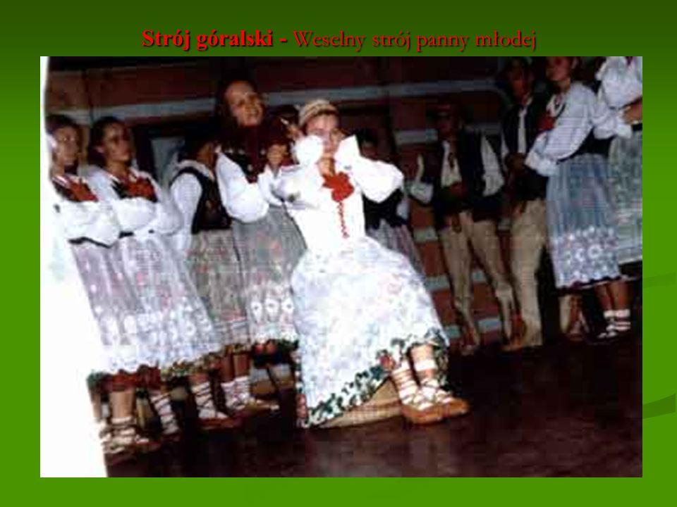 Strój góralski - Weselny strój panny młodej