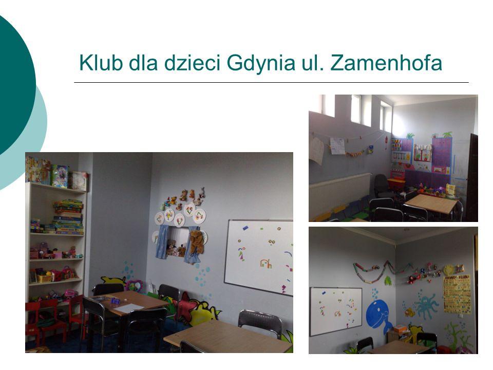 Klub dla dzieci Gdynia ul. Zamenhofa