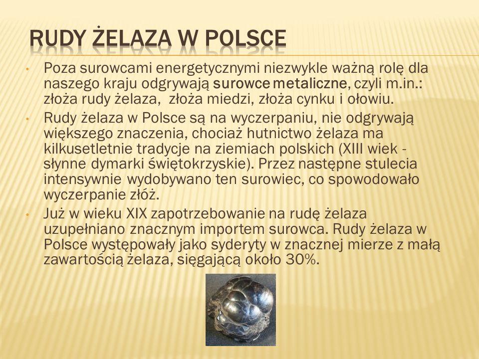 Dziś geolodzy zlokalizowali złoża rud żelaza na Pojezierzu Suwalskim.