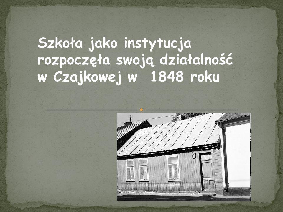 W okresie rozbiorów szkoła była ostoją polskości.