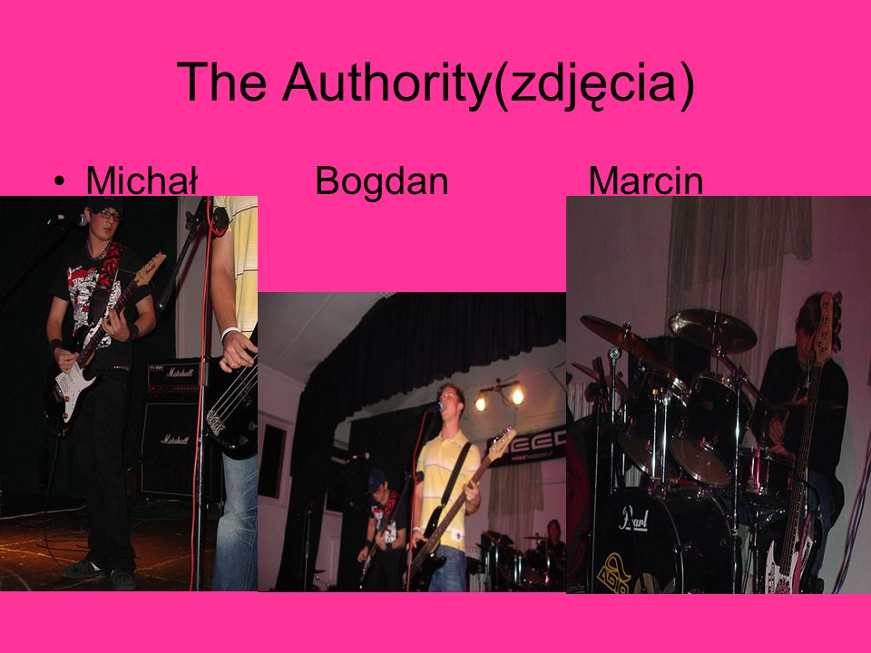 The Authority(zdjęcia) Michał Bogdan Marcin