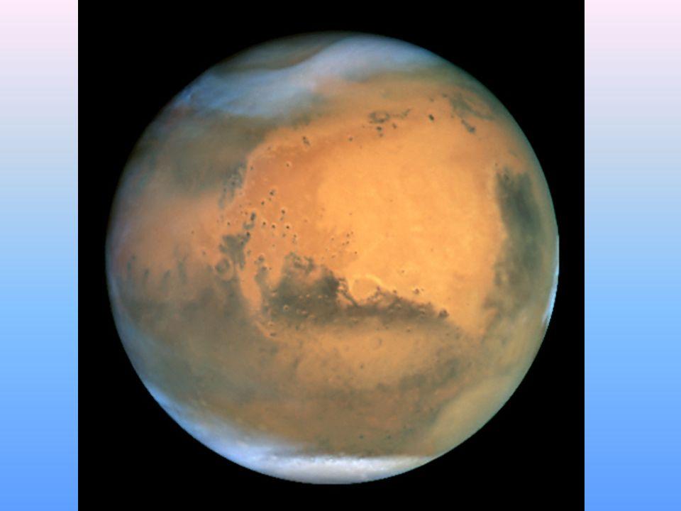 Atmosfera Atmosfera Marsa jest bardzo cienka i rozrzedzona.