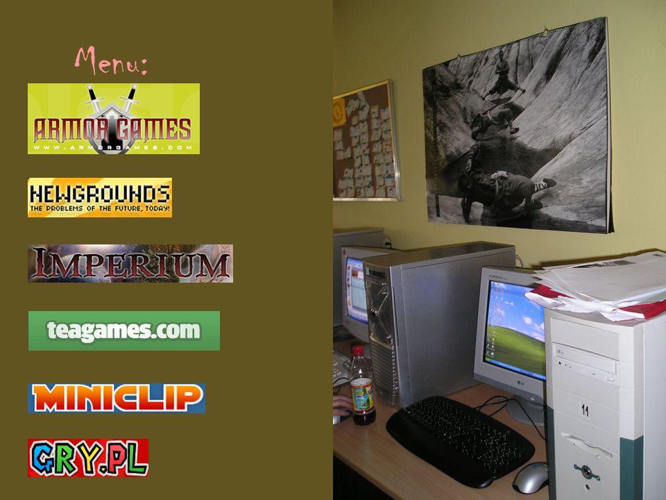 ArmorGames Strona ArmorGames.com cieszy się chyba największą popularnością w naszym Gimnazjum.