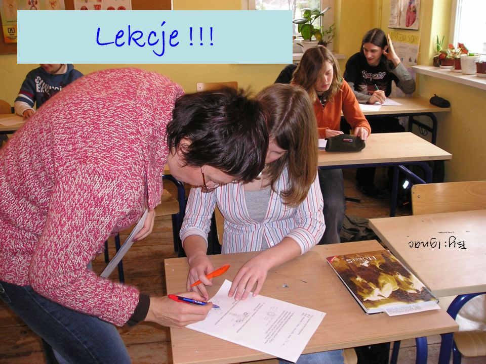 Lekcje !!! By: Ignac