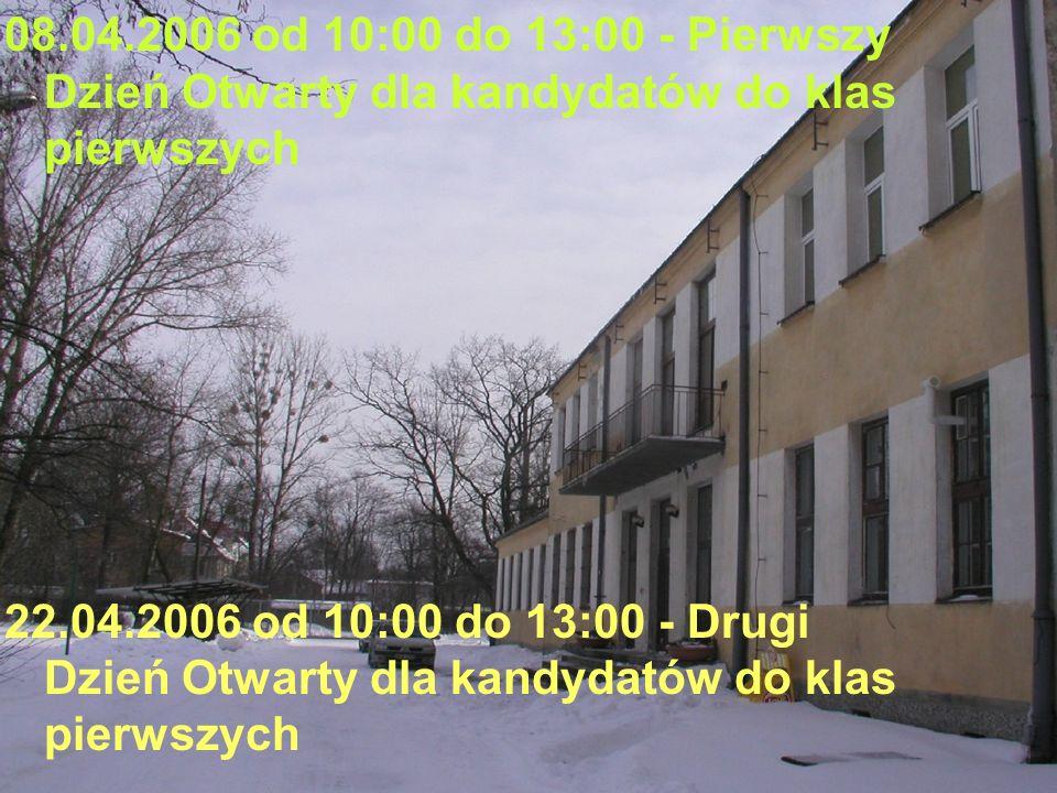 09-12.05.2006 od 14:30 - Rozmowy kwalifikacyjne z kandydatami do klas pierwszych – na czym polegają?.