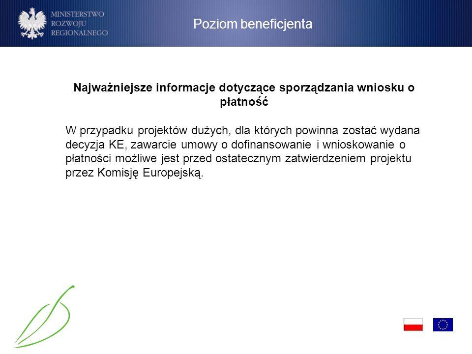 Poziom instytucji Dokument sporządzany przez Instytucję Zarządzającą nie obejmuje wydatków dla priorytetu III, IV i XI – które odpowiednio dana Instytucja Pośrednicząca przekazuje bezpośrednio do Instytucji Certyfikującej.