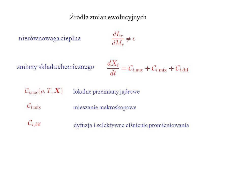 Utrata masy na gałęzi czerwonych olbrzymów Wzór Reimersa