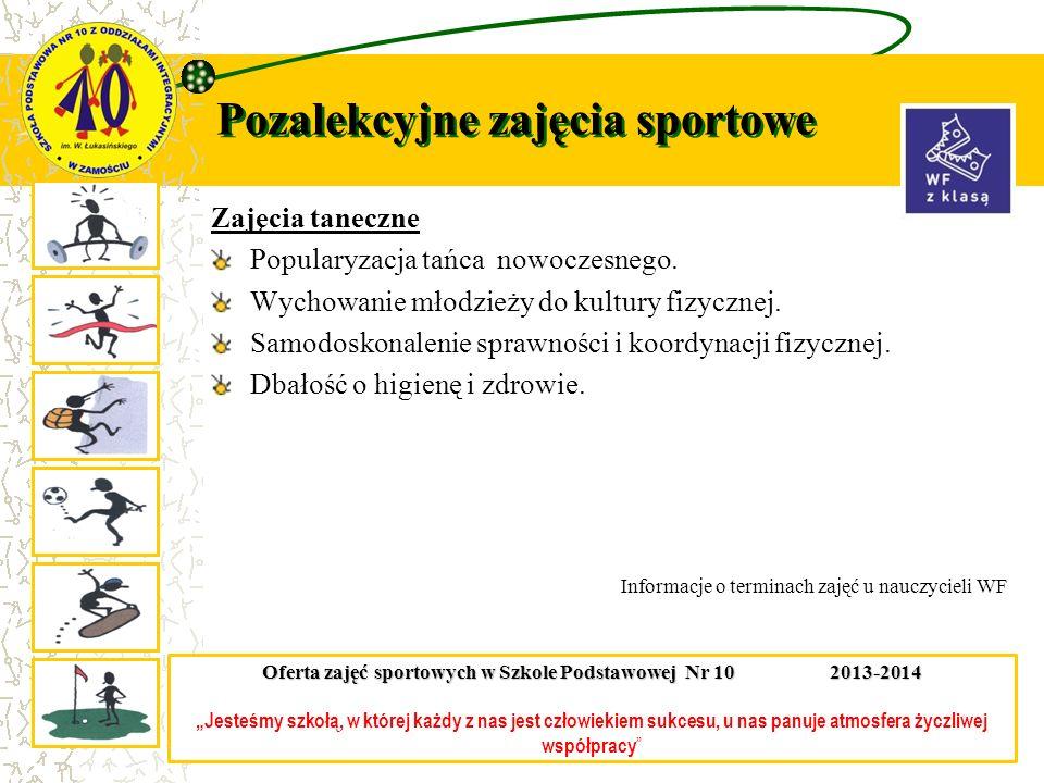 Pozalekcyjne zajęcia sportowe Bilard Popularyzacja gry w bilarda.