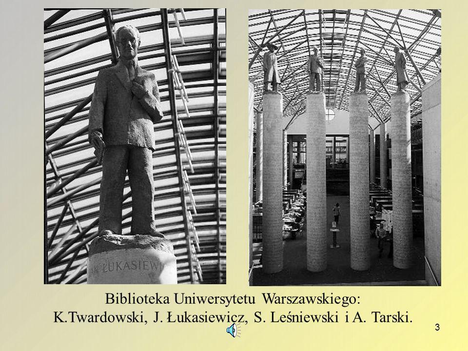 2 Jan Łukasiewicz (1878 – 1956) Jeden z najwybitniejszych logików XX wieku; twórca zasad Odwrotnej Notacji Polskiej Poza ONP do najbardziej znanych os