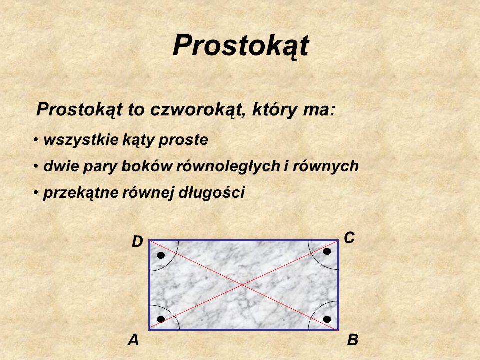 Romb Romb to taki równoległobok, który ma: wszystkie boki równe przekątne dzielące się na połowy i przecinające się pod kątem prostym kąty naprzemianl