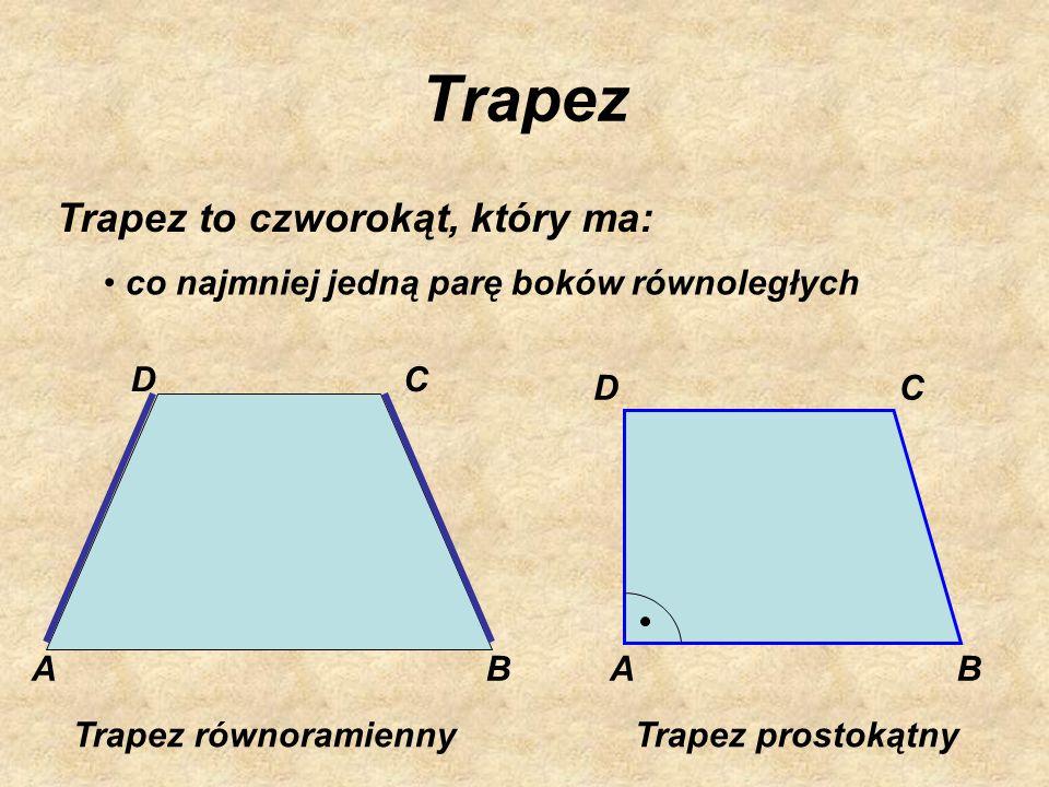 Kwadrat Kwadrat to czworokąt, który ma: cztery kąty proste wszystkie boki równej długości przekątne równej długości przecinające się pod kątem prostym