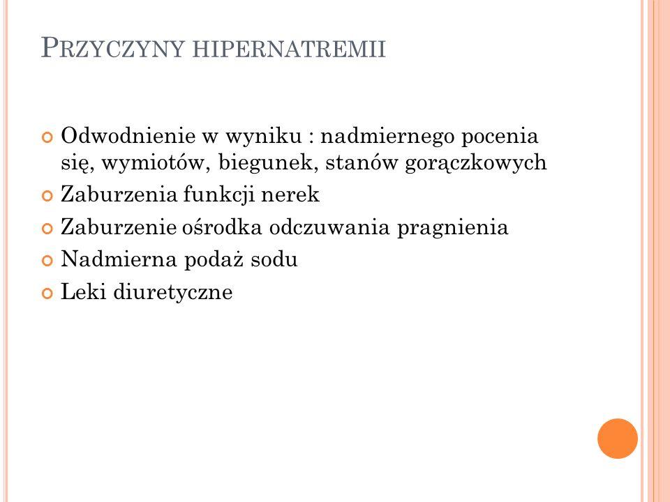 P RZEWODNIENIE Przewodnienie - w zależności od molalności płynów ustrojowych, rozróżnia się: przewodnienie izotoniczne przewodnienie hipotoniczne przewodnienie hipertoniczne