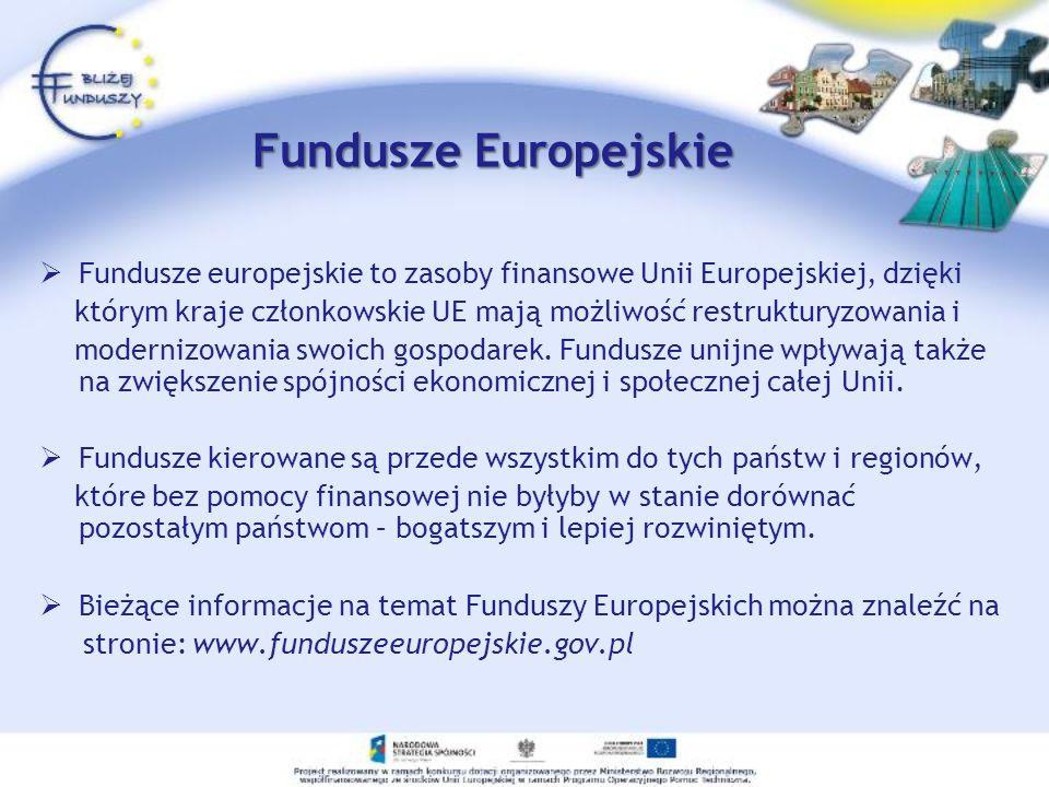 u M aksymalna wartość projektu Do 4 mln PLN Minimalny wkład własny beneficjenta 1 % kosztów kwalifikowanych w przypadku JST i jednostek im podległych Działanie 5.