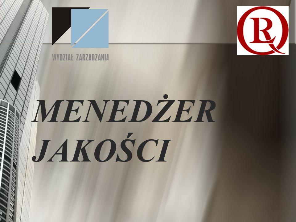 Idea utworzenia bloku MENEDŻER JAKOŚCI wynika z : ciągle wzrastającej roli jakości w konkurencyjnych działaniach firm na rynku; powszechnego stosowania przez firmy krajów wysoko uprzemysłowionych, w tym krajów członków UE, systemów zarządzania zgodnych z normami ISO 9001:2000, ISO 14001 (zarządzanie środowiskowe), PN-N 18001/OHSAS 18001 (zarządzania bezpieczeństwem i higieną pracy), a także koncepcji TQM/Business Excellence wejścia Polski do Unii Europejskiej – spełnienia określonych dyrektyw (oznaczenie CE, system HACCP, system EMAS).