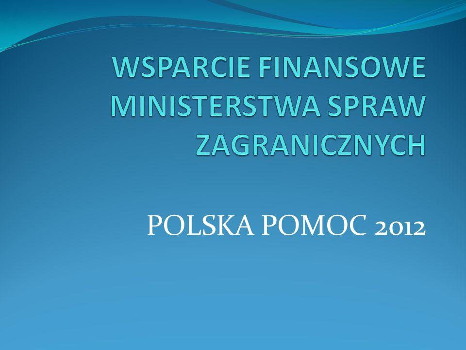 POLSKA POMOC 2012