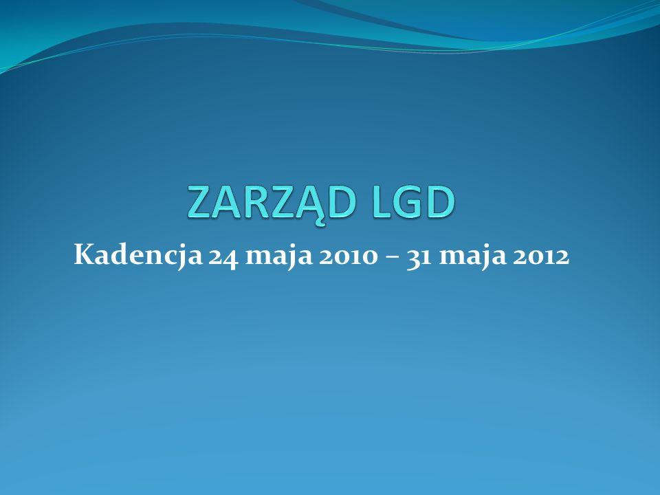Kadencja 24 maja 2010 – 31 maja 2012
