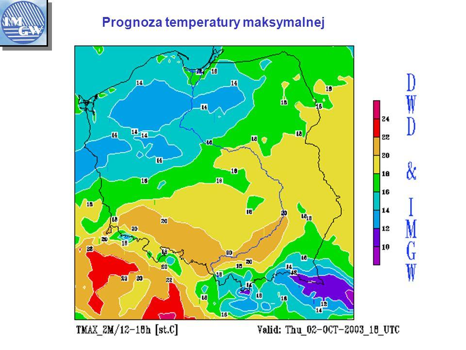 Prognoza temperatury maksymalnej