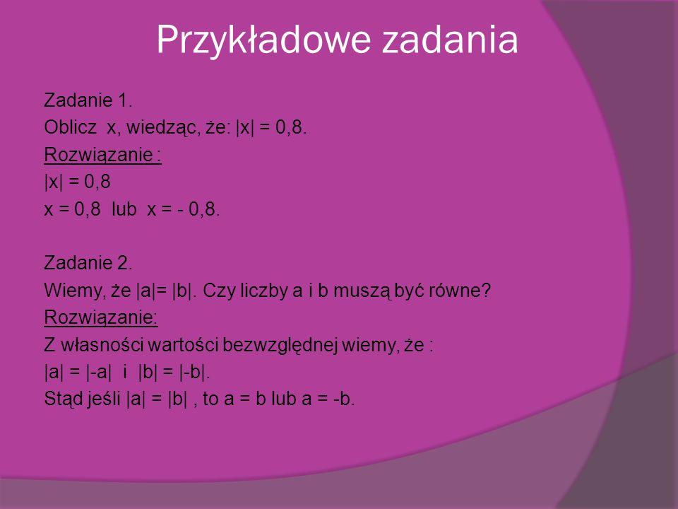 Zadanie 3. Prawdziwe są zdania a i d. POWRÓT