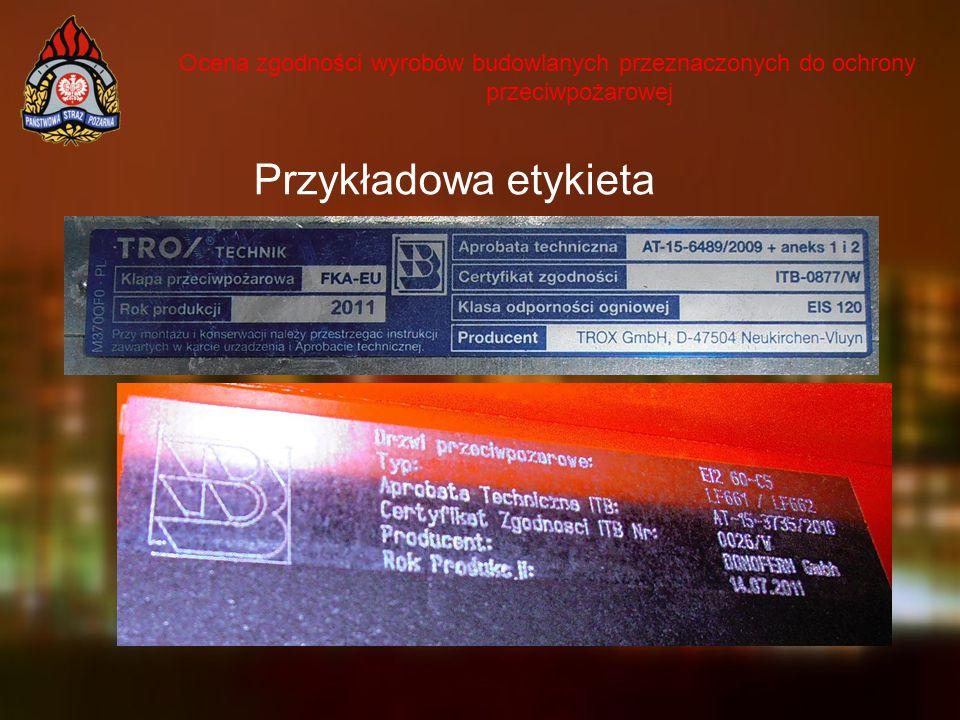 Przykładowa etykieta