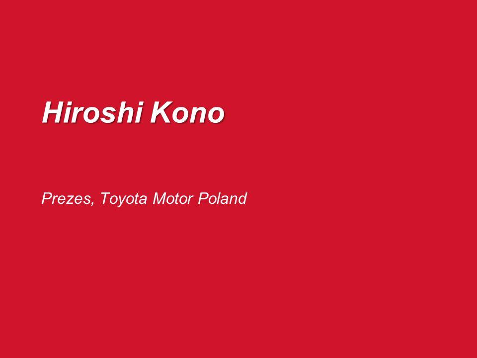 Witold Nowicki Dyrektor Handlowy, Toyota Motor Poland