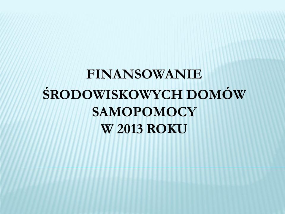 Informacja na temat ŚDS (dawna ankieta standaryzacyjna): termin złożenia informacji – 27 lutego 2013r.