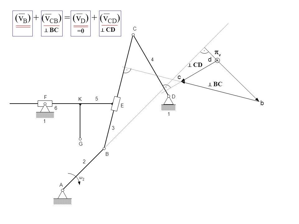A 2 2 B G K 3 E F 6 1 S 3 S 5 C D 4 5 1 3 4 + b v d c BC CD f 6, f3f3 f5f5 BC FE (v E5 ) = (v E3 ) + (v E5 E3 ) v E5 E3 = v F5 F3 (v E5 ) = (v E3 ) + (v F5 F3 ) e3e3