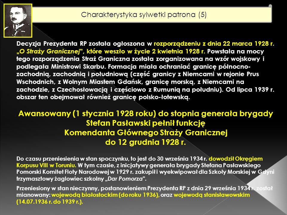 Charakterystyka sylwetki patrona (6) Internowany w Rumunii po kampanii 1939 r.