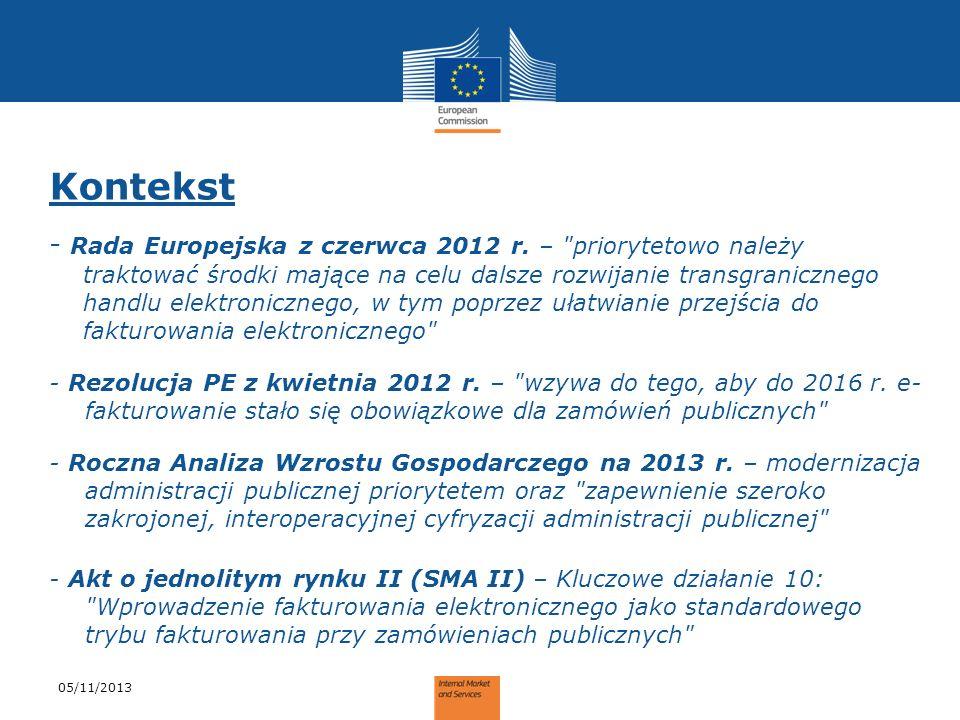 Kontekst - Rada Europejska z czerwca 2012 r. –