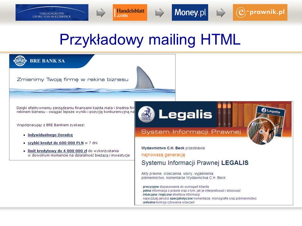 Przykładowy mailing HTML