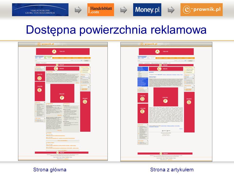 Reklama w newsletterze e-prawnik.pl Codziennie wysyłamy do bazy ponad 40 tys.