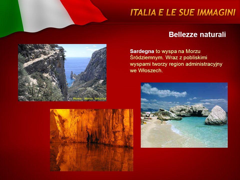 Bellezze naturali Sardegna to wyspa na Morzu Śródziemnym. Wraz z pobliskimi wyspami tworzy region administracyjny we Włoszech.