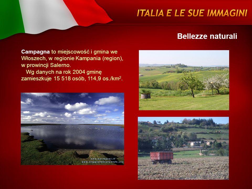 Bellezze naturali Campagna to miejscowość i gmina we Włoszech, w regionie Kampania (region), w prowincji Salerno. Wg danych na rok 2004 gminę zamieszk