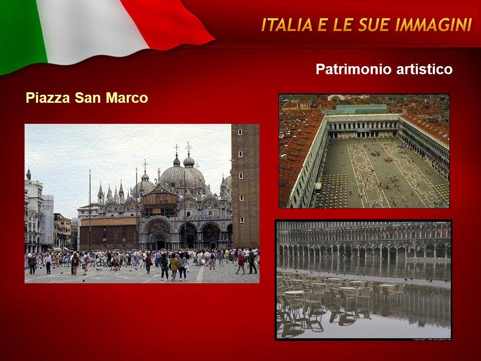 Patrimonio artistico Piazza San Marco