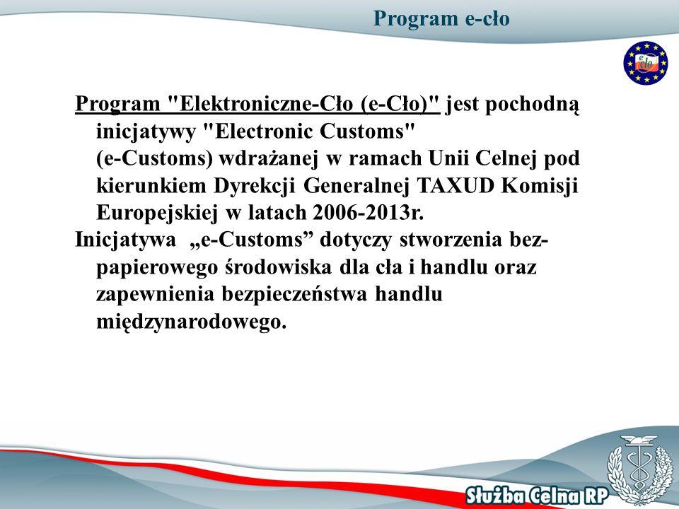 Program e-cło Program