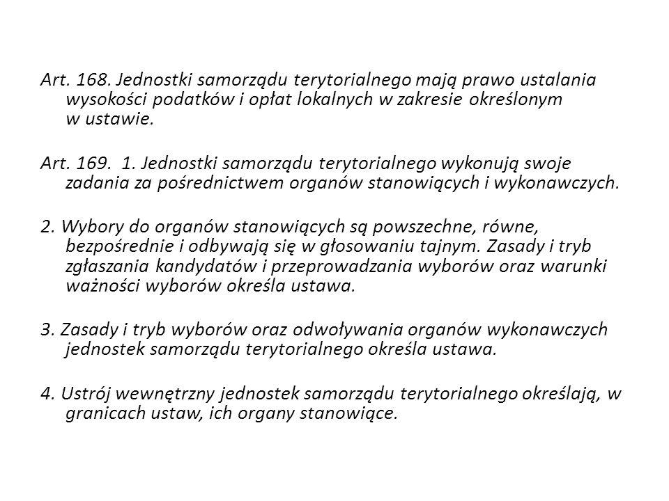 Dochody gminy – art.54 ustawy z dnia 8 marca 1990 r.