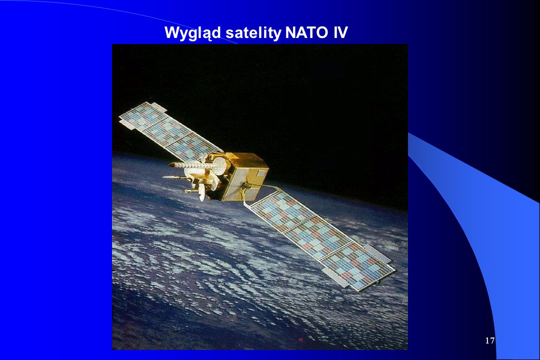 16 NATO III D 18° W NATO III D 18° W NATO IV A 17.8° W NATO IV A 17.8° W NATO IV B 20.2° W NATO IV B 20.2° W Konstelacje satelitów NATO