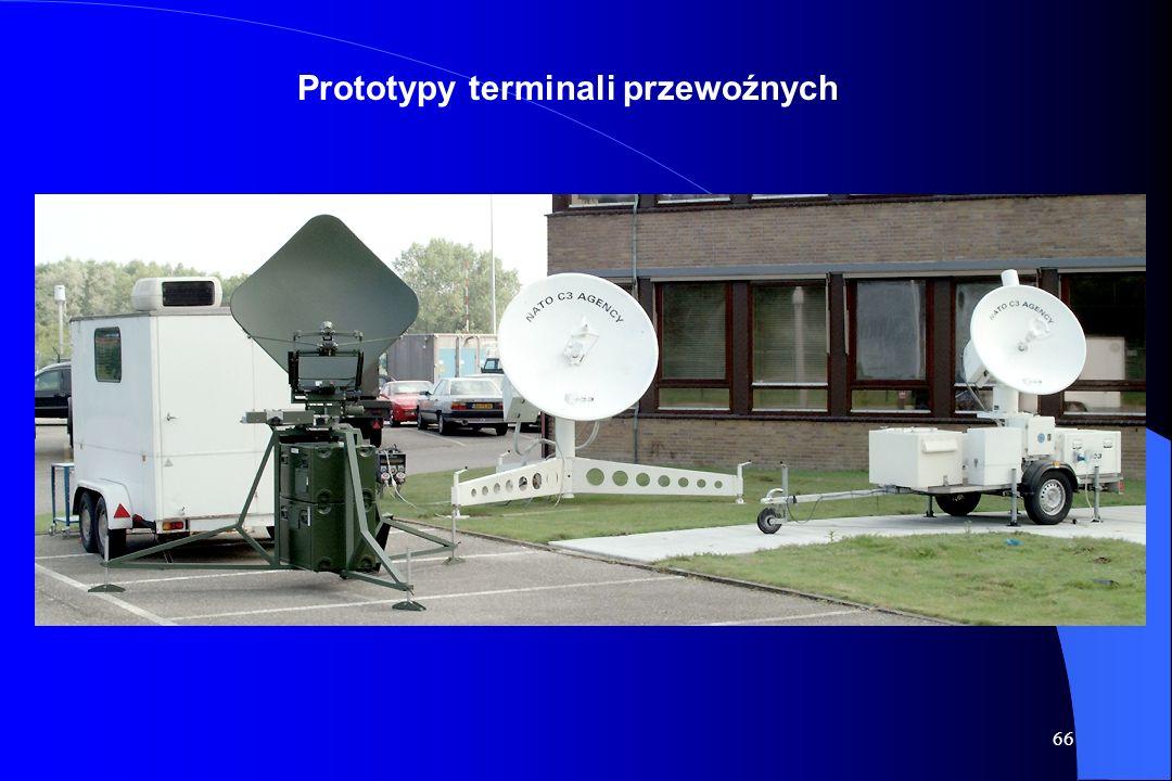 65 Przykłady naziemnych stacji satelitarnych