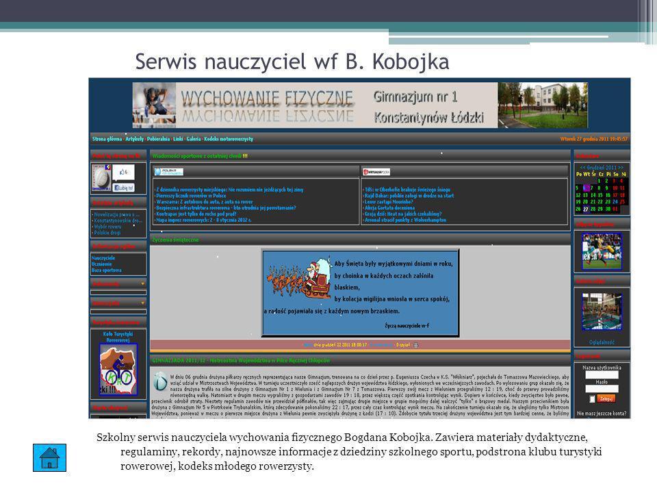 Informatyka praktyczna Serwis nauczyciela informatyki A.