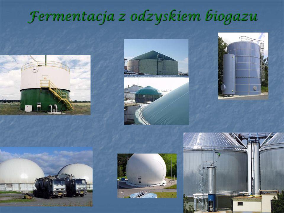 Fermentacja z odzyskiem biogazu