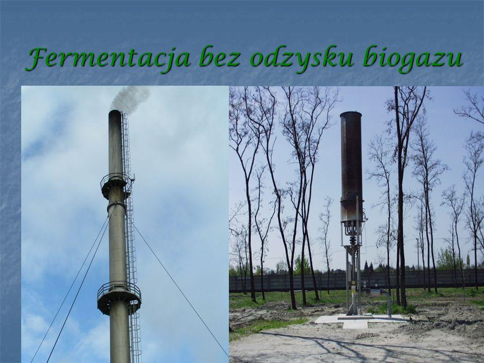 Fermentacja bez odzysku biogazu