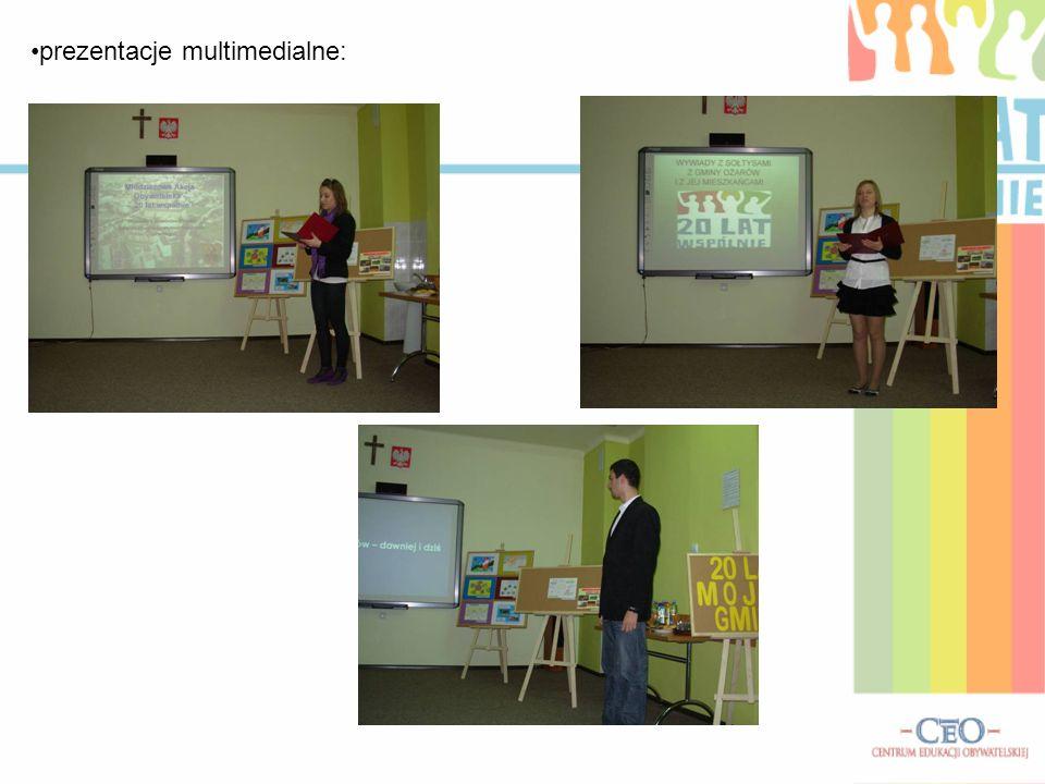 prezentacje multimedialne: