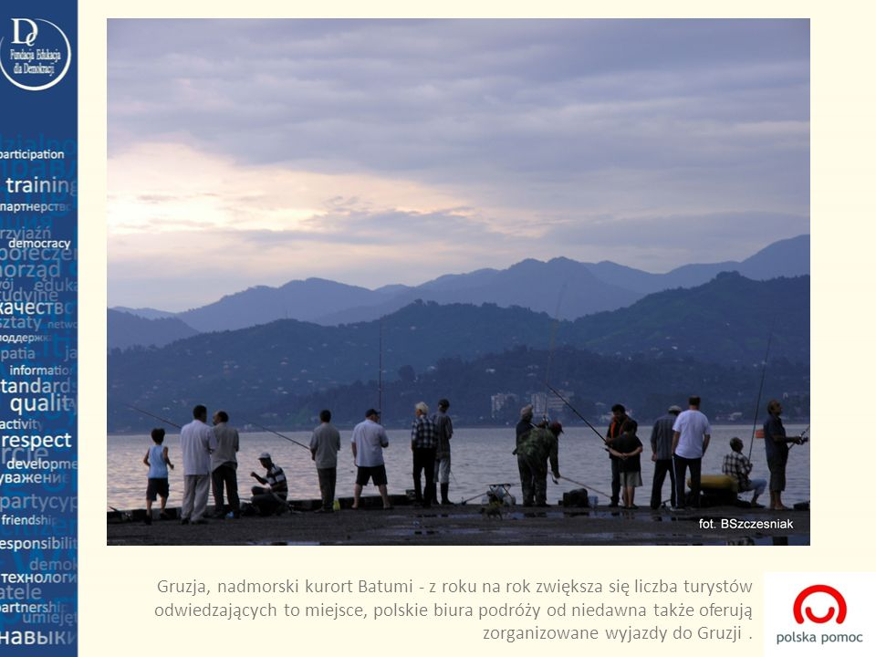 Gruzja, nadmorski kurort Batumi - z roku na rok zwiększa się liczba turystów odwiedzających to miejsce, polskie biura podróży od niedawna także oferuj