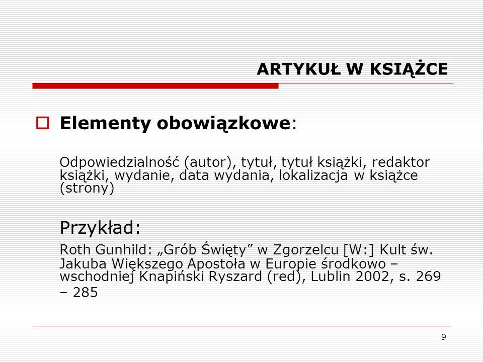 20 Różnice KATALOG jest spisem dokumentów zbioru istniejącego rzeczywiście w danej bibliotece z katalogu korzysta użytkownik, który chce dowiedzieć się, czy określone dokumenty znajdują się z zbiorze biblioteki BIBLIOGRAFIA jest spisem dokumentów zbioru abstrakcyjnego z bibliografii korzysta użytkownik, który chce dowiedzieć się, jakie dokumenty istnieją na określony temat