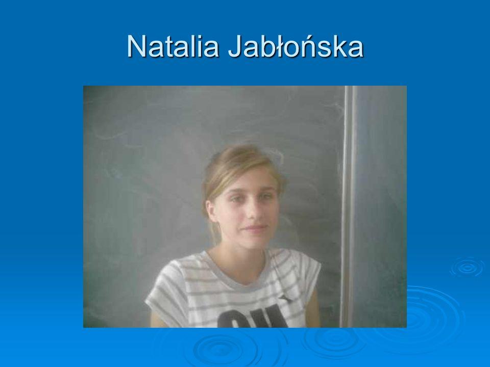 Natalia Jabłońska