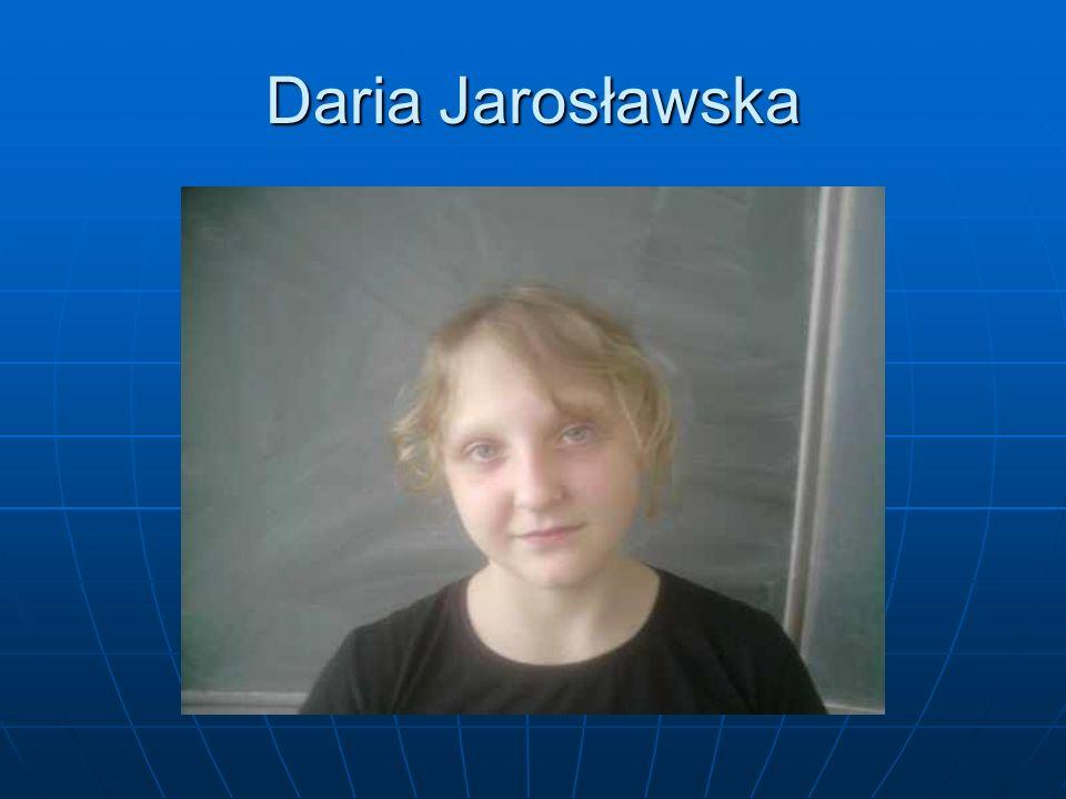 Daria Jarosławska