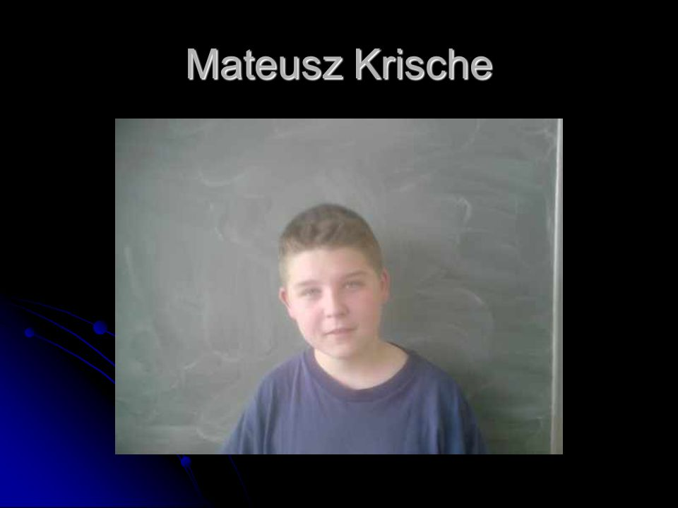 Mateusz Krische