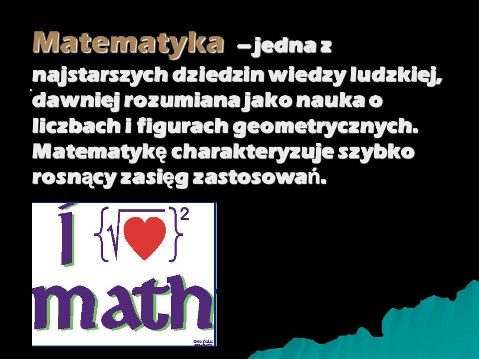 Początki Matematyka w ż yciu codziennym Jakub Polanowski Marek Łuczak IIE